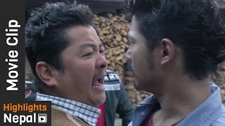 Dayahang Rai & Saugat Malla - Taile Khojya Ke | Nepali Movie KABADDI KABADDI Scene
