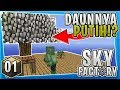 download mp3 dan video KOK POHONNYA WARNA PUTIH!? - Minecraft SkyFactory Survival [01]