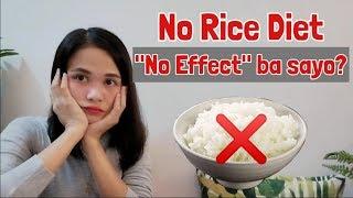 NO RICE DIET : BAKIT HINDI EFFECTIVE SAYO?