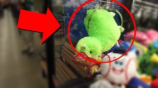 Getting Kicked Out Of The Store For Winning On The Claw Machine