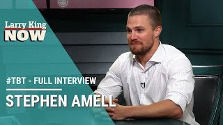 #TBT - Stephen Amell on Olicity, 'Arrow' fans, & Drake