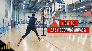 Easy Basketball Moves To Score More Points in REAL GAMES!