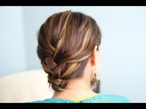 french braid amp tuck diy hairstyles cute girls