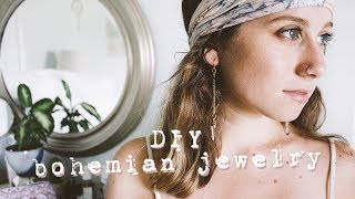 diy bohemian jewelry