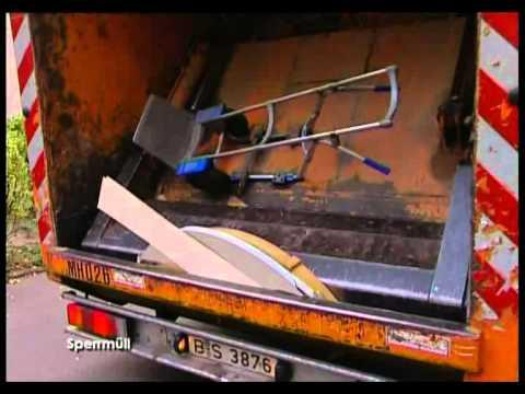 Sperrmüllabfuhr - Alltag eines Entsorgers