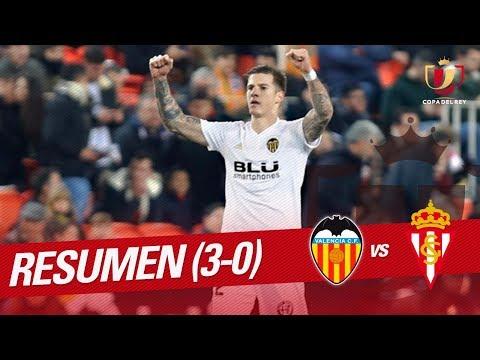 Resumen de Valencia CF vs Real Sporting (3-0)