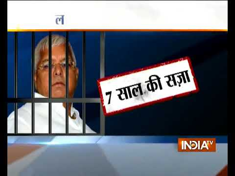 Fodder Scam: RJD Chief Lalu Prasad Yadav Sentenced To 7 Years In Prison In Dumka Treasury Case