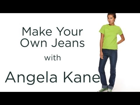 How to Make Jeans, Sewing Tutorial from Angela Kane