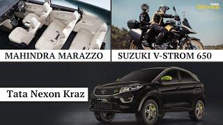 World of Wheels   Latest Car Launches   Mahindra Marazzo   Tata Nexon Kraz