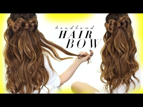 ★ HAIR BOW Half-Updo | HAIRSTYLES For SCHOOL