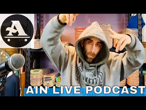 AIN LIVE PODCAST - PHELPER, STATE OF SKATE & SHOUT OUTS WITH ANTHONY SHETLER