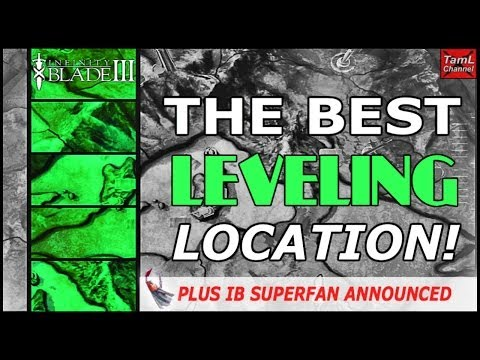 Infinity Blade 3: THE BEST LEVELING LOCATION! (Plus IB Superfan Announced)