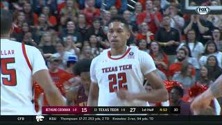 Texas Tech Men's Basketball vs. Bethune-Cookman: Highlights | 2019