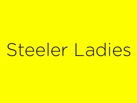 Steeler Ladies (Put A Ring On It)