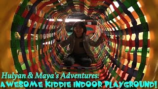 Hulyan & Maya's Adventures: A Trip to a Playground! Slides, Kiddie Jumper, Video Games, Etc...