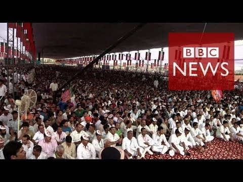 World's largest election explained in 60 seconds - BBC News