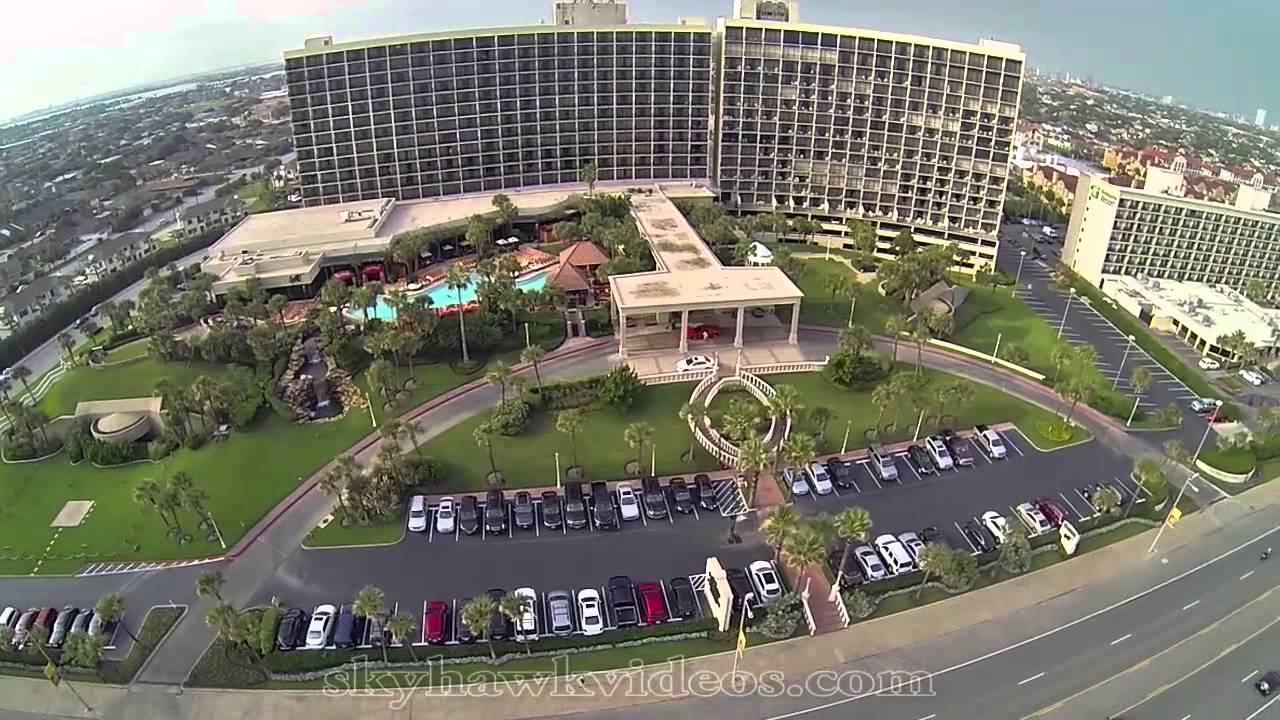 aerial san luis hotel galveston tx youtube. Black Bedroom Furniture Sets. Home Design Ideas