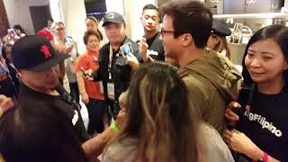 Sam Milby. 😎ASAP 2019 SAP Arena, San Jose, California Sam Milby meeting the fans.