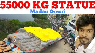 55000 kg Statue Mystery   Tamil   Kodhanda Ramar   Madan Gowri   MG   Silai