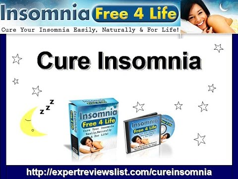 Is There A Cure For Insomnia | Cure Insomnia | Insomnia FREE 4 Life Review!!!