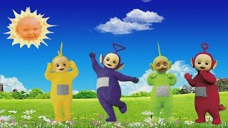 TELETUBBIES Finger Family Super Cartoon Collection 1 Hour Long Playing Video