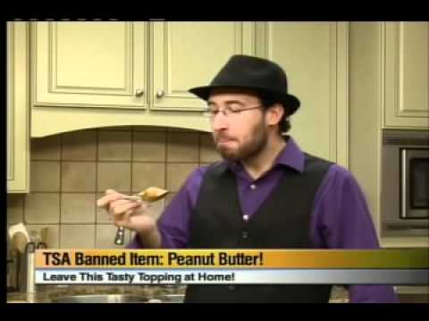 TSA Banned Item of the Day  Peanut Butter