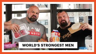Everything the World's Strongest Men Eat In a Day | Men's Health