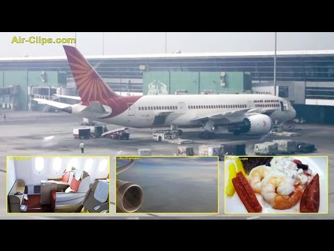 Air India Boeing 787-8 Dreamliner New Delhi to Frankfurt [AirClips full flight series]