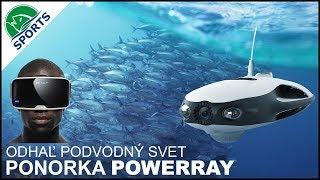 Ponorka PowerRay - objavte podvodný svet, obj. č.2250 001