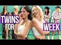 Best Friends Dress Like TWINS for a Week! (Beauty Break)