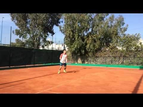 Roger Federer Practice session Roland Garros