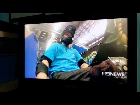 9 News Gold Coast Wheelchair Backflip & WCMX