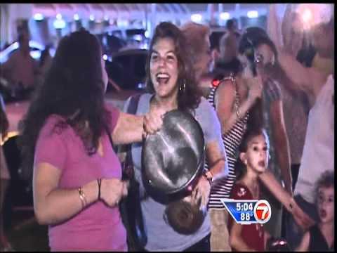June 09, 2012 - WSVN - Miami Celebrates the Miami Heat's 3rd Eastern Conference Championship