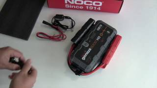 Noco GB70 battery jump pack review