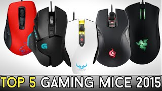 TOP 5: Best PC Gaming Mice for 2015!