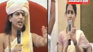 Nithyananda - Ranjitha behaviour / activity shamfull for Hindhu religon 17--07--2011
