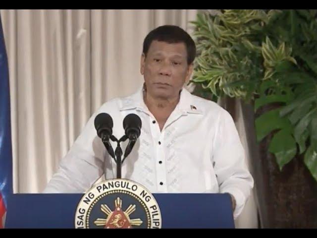 Duterte: 'I'm thinking of stepping down'