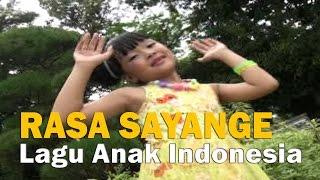 Lagu Anak RASA SAYANGE Lagu Daerah Indonesia TERBARU
