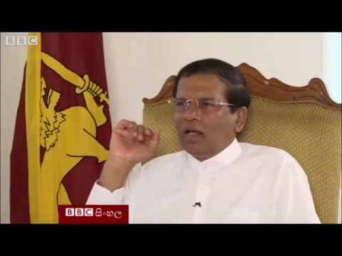 Sri Lanka military should be cleared from war crime charges: President