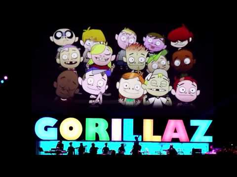 Gorillaz, Dirty Harry @ o2 London 16 November 2010 HD