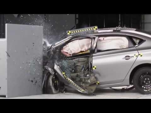 2013 Nissan Sentra, краш-тест