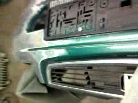 Снятие и ремонт бампера Honda Civic (Хонда Цивик)