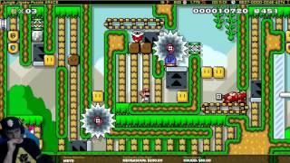 Mario Maker one Screen Puzzle level-Jungle Jigsaw Puzzle