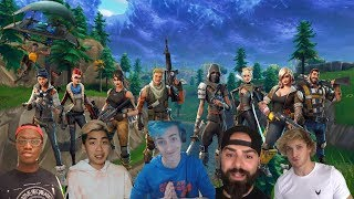 *FORTNITE FAMOUS* PLAYERS - Fortnite Funny Fails and WTF Moments! EP 06 (Daily Moments)