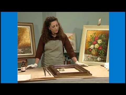Curso Pintura Decorativa em Molduras e Fabricação de Telas e Painéis - Decap�