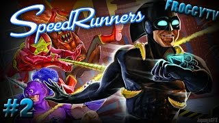 SpeedRunners with Friends: Episode 2: CINAMMONTOASTKEN WINS ALL!