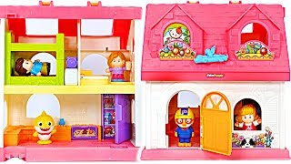 Let's play in the Surprise Home with Baby Shark and Pororo! #PinkyPopToy