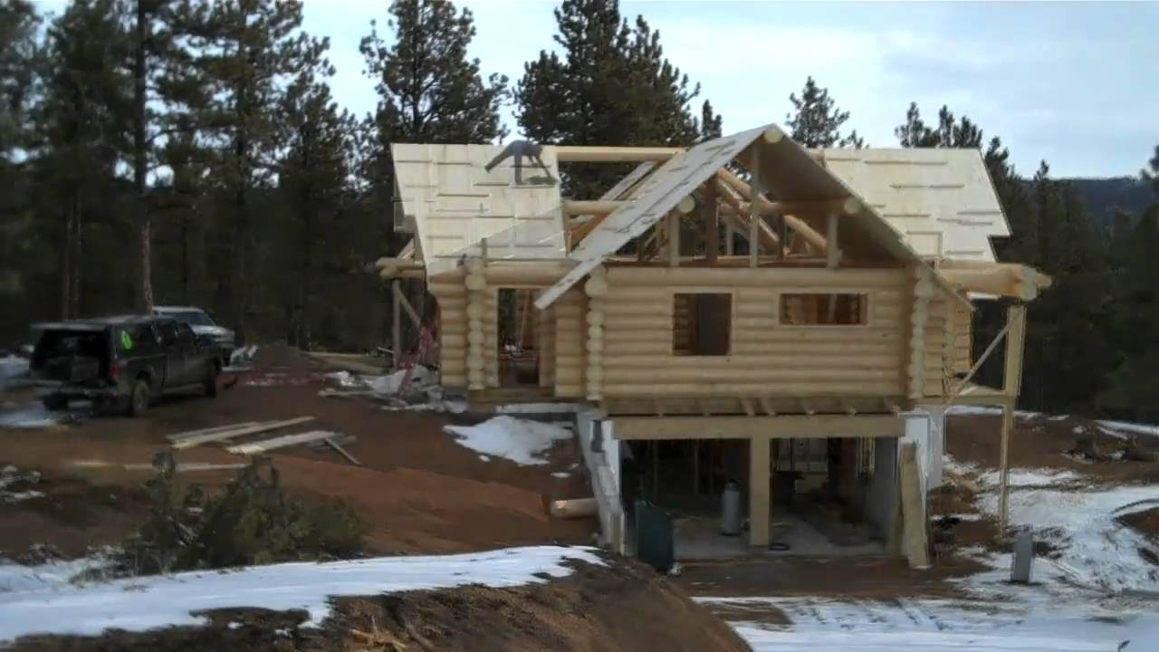 How to build a log home by mitchell dillman the online for How to build a house online