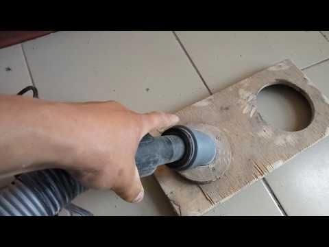 Насадка на перфоратор для пылеудаления своими руками 14