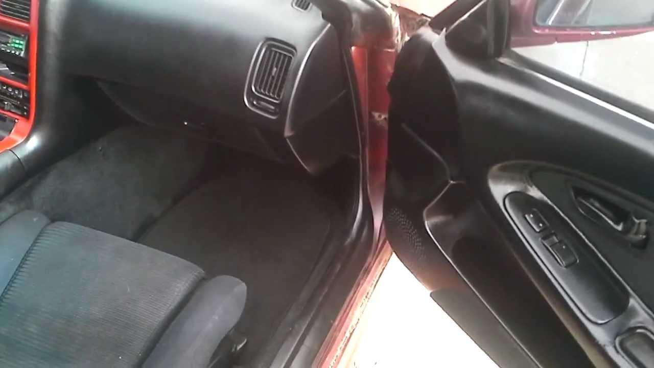 91 Toyota Mr2 Interior Youtube